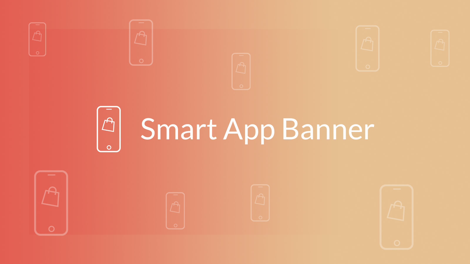 iOS and Android apps banner for Shopify